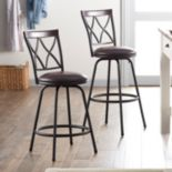 SONOMA Goods for Life? Shelton Adjustable Swivel Stool 2-piece Set