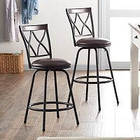 SONOMA Goods for Life™ Shelton Adjustable Swivel Stool 2 pc Set