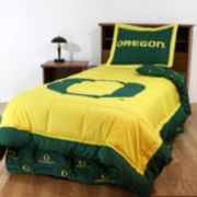 Oregon Ducks Reversible Comforter Set - Queen