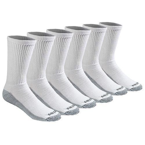 Men's Dickies 6-pk. Dri-Tech Comfort Moisture-Control Crew Socks