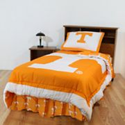 Tennessee Volunteers Reversible Comforter Set - Queen