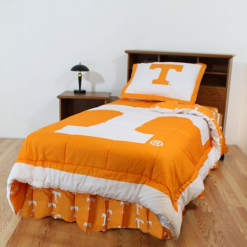 Tennessee Volunteers Reversible Comforter Set Queen
