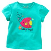 Jumping Beans Daddy's Angel Fish Tee - Baby