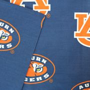 Auburn Tigers Printed Sheet Set - Twin