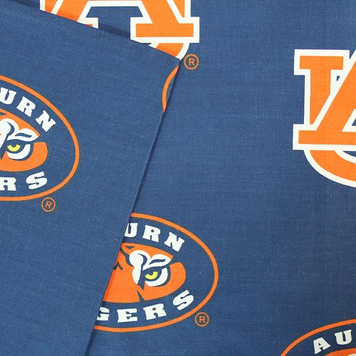 Auburn Tigers Printed Sheet Set - King