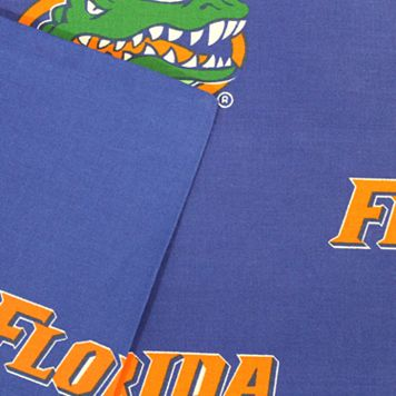 Florida Gators Printed Sheet Set - Queen