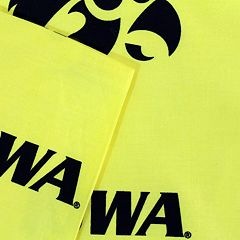 Iowa Hawkeyes Printed Sheet Set - Queen