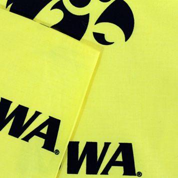 Iowa Hawkeyes Printed Sheet Set - Queen