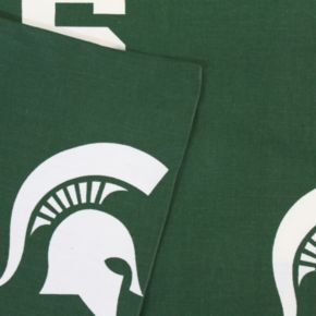 Michigan State Spartans Printed Sheet Set - King
