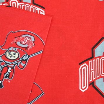 Ohio State Buckeyes Printed Sheet Set - Queen