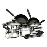 Paula Deen Signature Stainless Steel 12-pc. Cookware Set