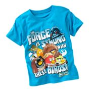 Angry Birds Star Wars The Force is Strong Tee - Boys 4-7