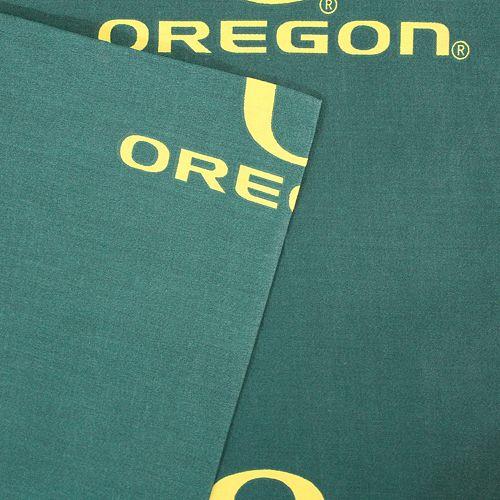 Oregon Ducks Printed Sheet Set - Twin