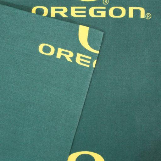 Oregon Ducks Printed Sheet Set - Full