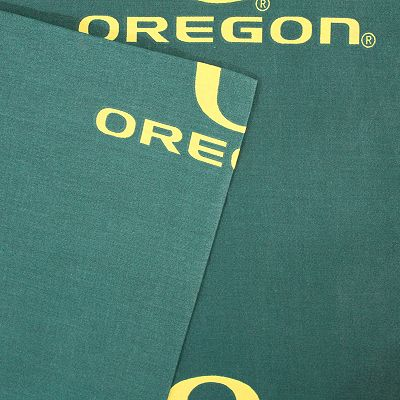 Oregon Ducks Printed Sheet Set - King
