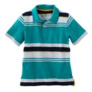 SONOMA life + style Striped Slubbed Polo - Boys 4-7x