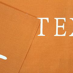 Texas Longhorns Printed Sheet Set - King