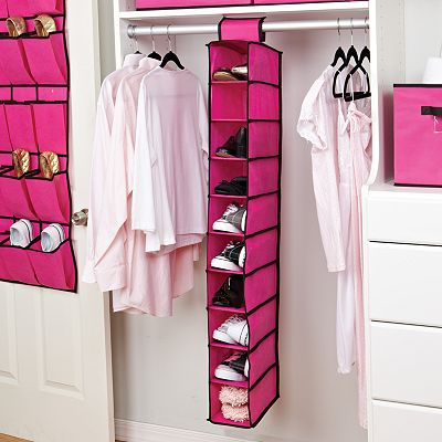 Kennedy 10-Shelf Hanging Shoe Organizer