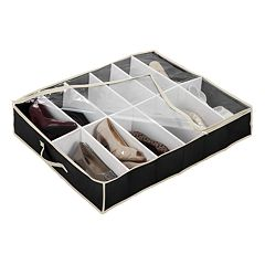 Kennedy Home Collection Under-Bed Shoe Organizer