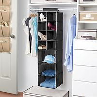 Kennedy Home Collection Hanging Shoe & Shelf Organizer