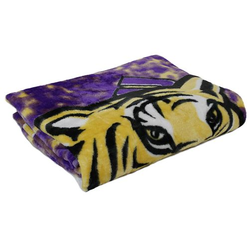 LSU Tigers Throw Blanket