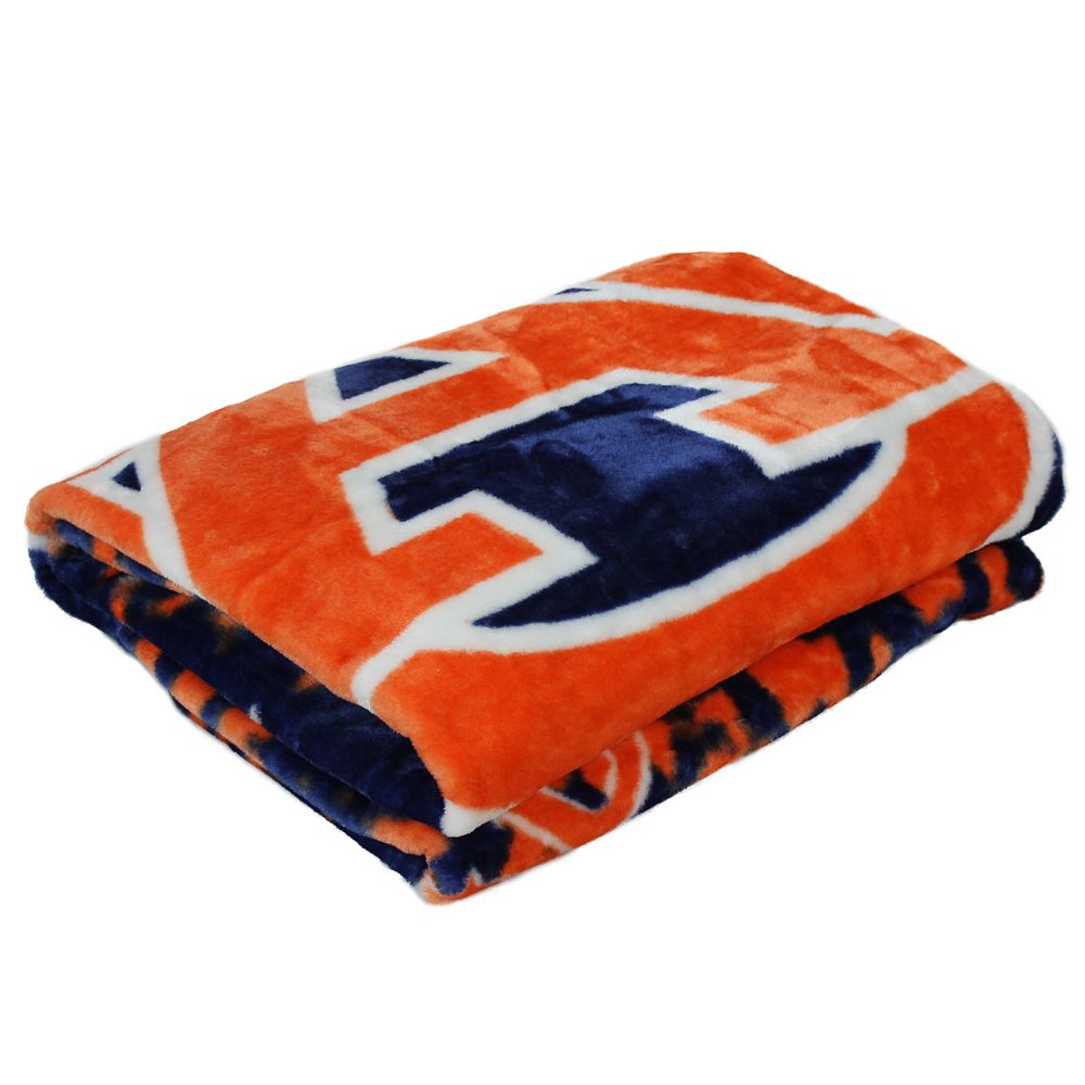 Auburn Tigers Throw Blanket
