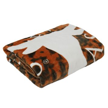Texas Longhorns Throw Blanket