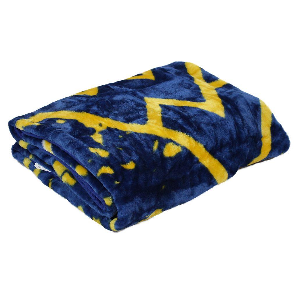 West Virginia Mountaineers Large Throw Blanket