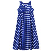 Chaps Striped Maxi Dress - Girls 7-16