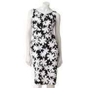 Suite 7 Floral Empire Sheath Dress