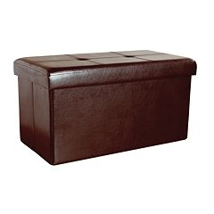 Kennedy Home Collection 16' x 30' Folding Storage Ottoman