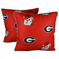 Georgia Bulldogs Decorative Pillow Set