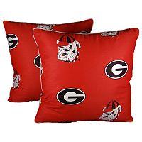 Georgia Bulldogs Decorative Pillow Set
