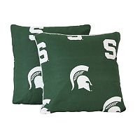 Michigan State Spartans Decorative Pillow Set