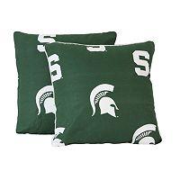 Michigan State Spartans Decorative Pillow Set