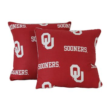 Oklahoma Sooners Decorative Pillow Set