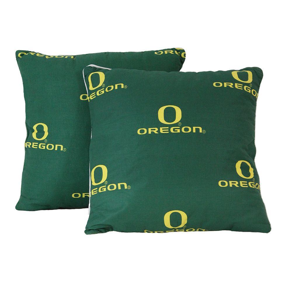 Oregon Ducks Decorative Pillow Set