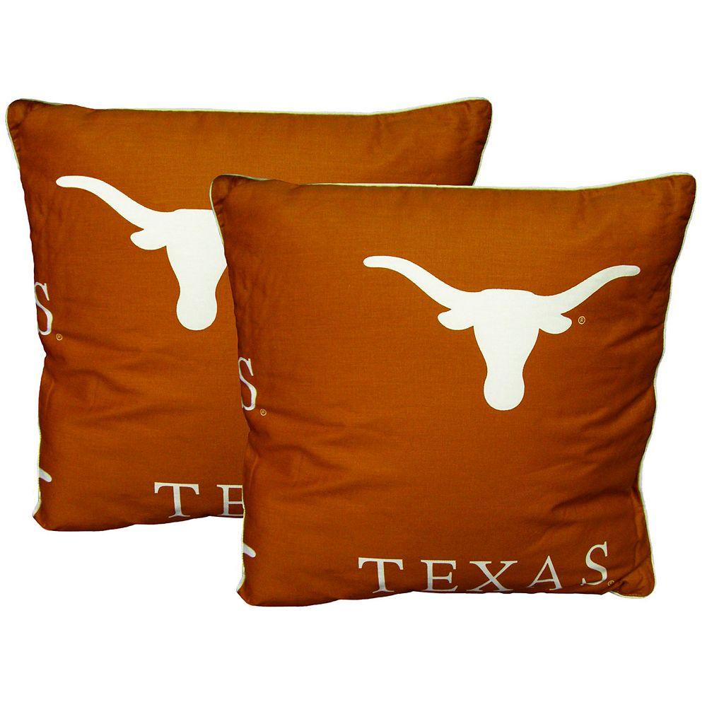 Texas Longhorns Decorative Pillow Set