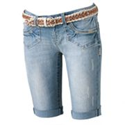 Wallflower Hayden Bermuda Shorts - Juniors