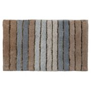 Striped Bath Rug