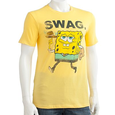 Spongebob Squarepants Swag Tee - Men