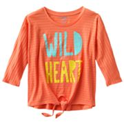 Hang Ten Wild at Heart Tee - Girls 7-16