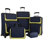Chaps Alvaston 5 pc Luggage Set