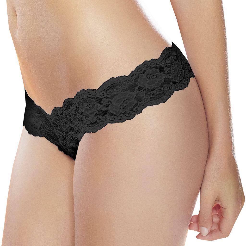 Jezebel Posh Lace Thong 50940 - Women's