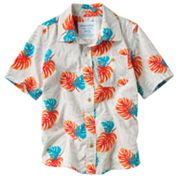 SONOMA life + style Leaf Button-Down Shirt - Boys 4-7x