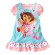 Dora the Explorer Swinging Adventure Nightgown - Toddler