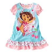Dora the Explorer Swinging Adventure Nightgown - Toddler