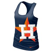 Nike Houston Astros Racerback Tank - Women