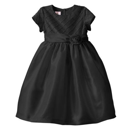 Marmellata Classics Diamond Pintuck Dress - Girls 4-6x