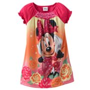 Disney Mickey Mouse and Friends Minnie Mouse Nightgown - Toddler